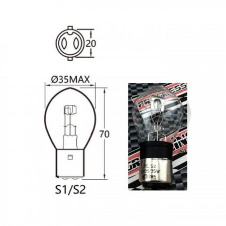 Bilux Hauptscheinwerferlampe