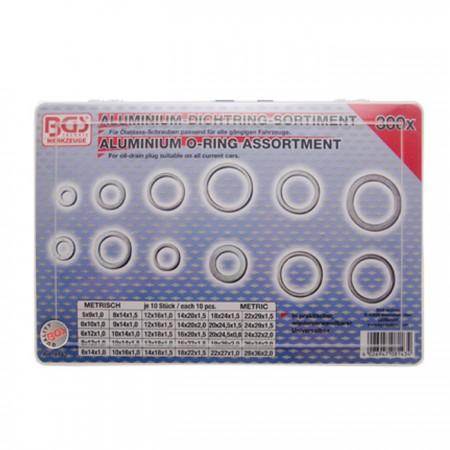 Aluminium-Dichtring-Sortiment