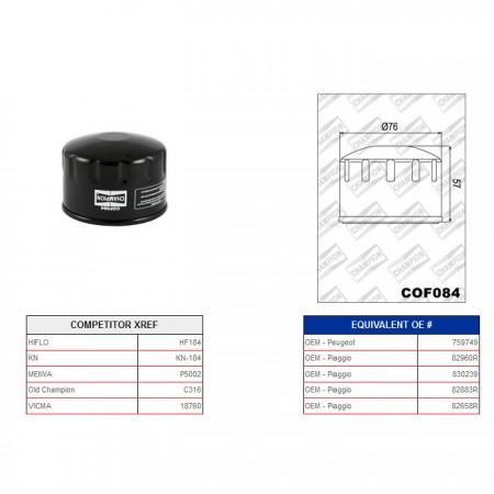 Ölfilter Champion C316 / COF084*