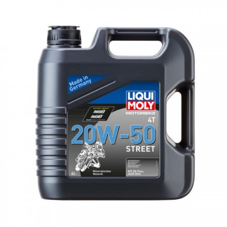 LIQUI MOLY 4T 20W-50 Street