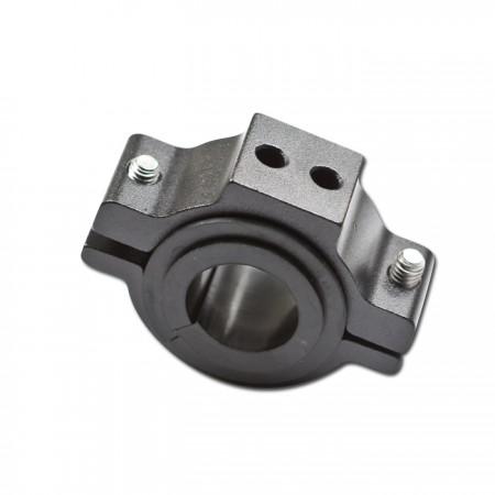 universal Halteschelle | schwarz-Alu | Ø 22-36mm