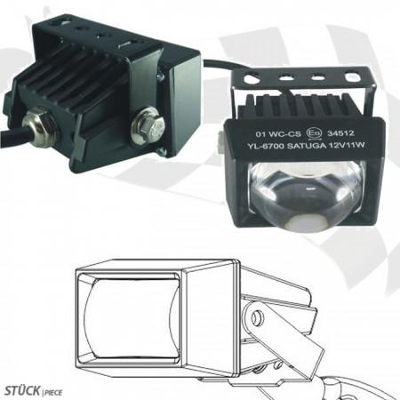 LED-Ellipsoidscheinwerfer mit Abblendlicht