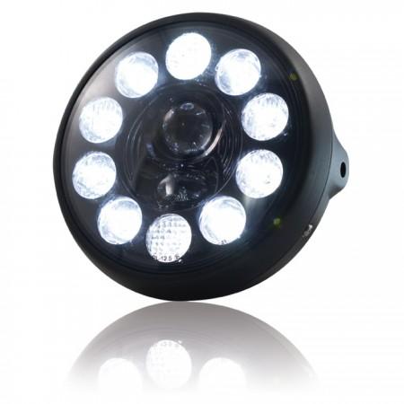 """LED-Scheinwerfer """"British Style"""" 7"""""""