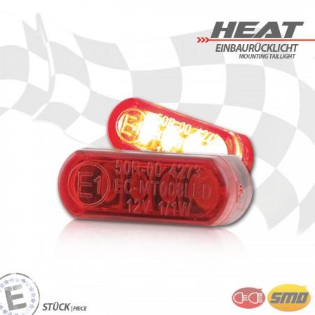 """LED-Einbaurücklicht """"Heat"""""""
