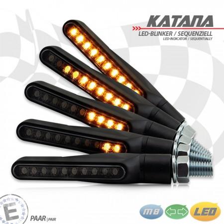 """LED-Blinker """"Katana"""""""
