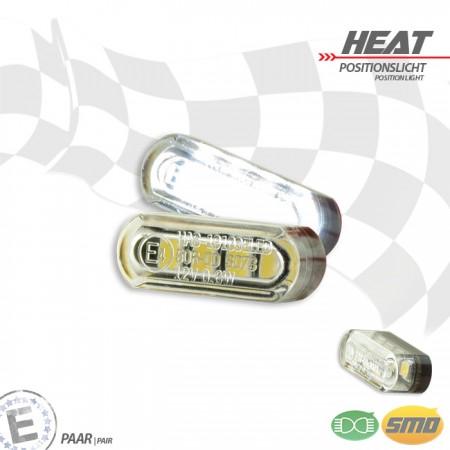 """LED-Einbau-Positionslichtset """"Heat"""""""