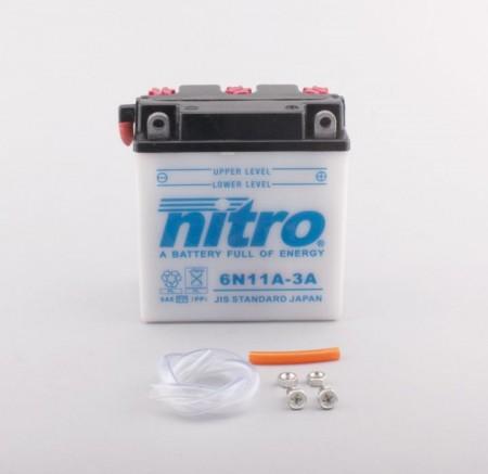 Batterie Nitro 6N11A-3A