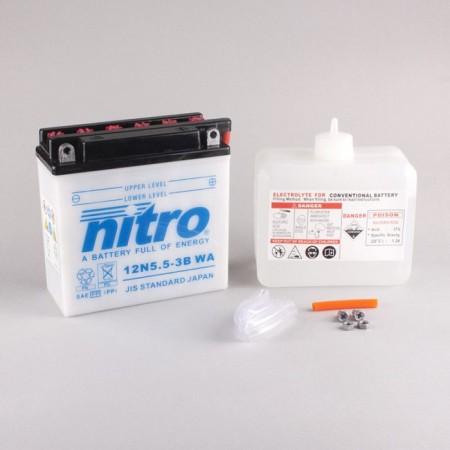 Batterie Nitro 12N5,5-3B
