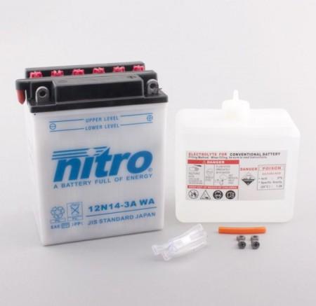 Batterie Nitro 12N14-3A