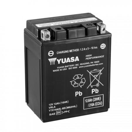 Batterie YUASA YTX14AHL-BS