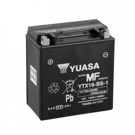 Batterie YUASA YTX16-BS-1