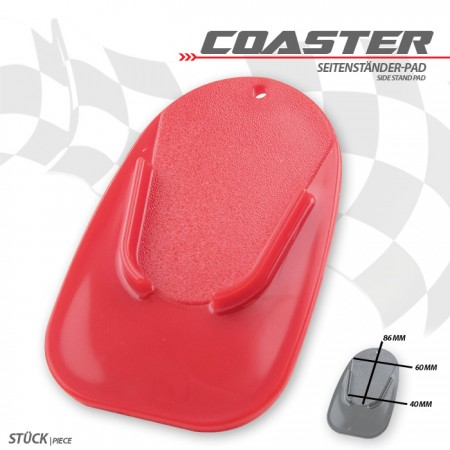 """Seitenständer-Pad """"Coaster"""""""