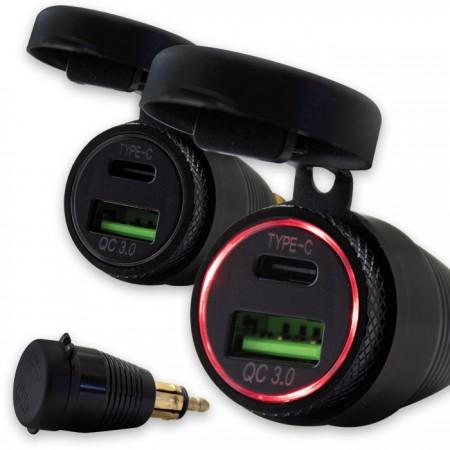 Doppel-USB 3.0-Adapter