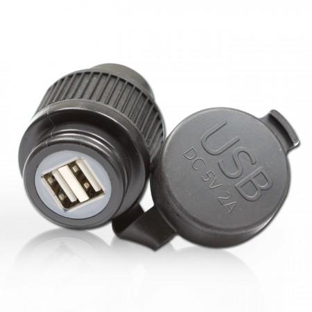 Doppel-USB-Bordsteckdose