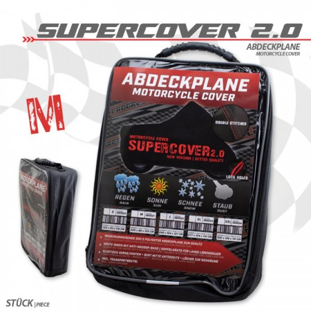 "Motorrad-Abdeckplane ""Supercover 2.0"" | M"