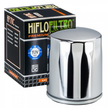Hiflo Ölfilter HF170C Chrom