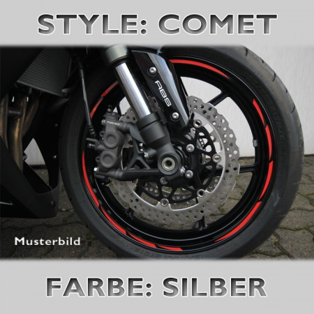 "Felgenrandaufkleber ""Comet Style"""