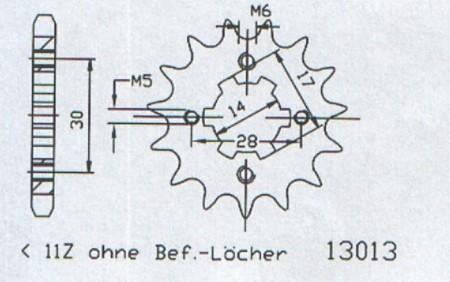 Ritzel 50 - 13013 - 11
