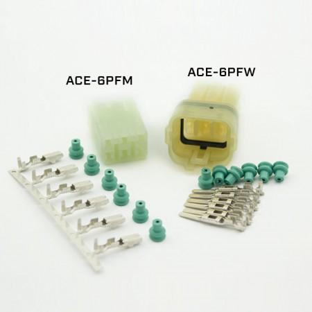 """ACEWELL 6er Stecker """"ACE-6PFW"""""""