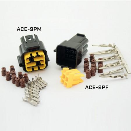 """ACEWELL 9er Stecker """"ACE-9PF"""""""