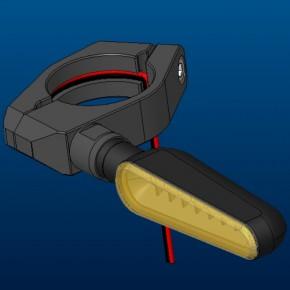 CNC-Blinkerhalter-Set